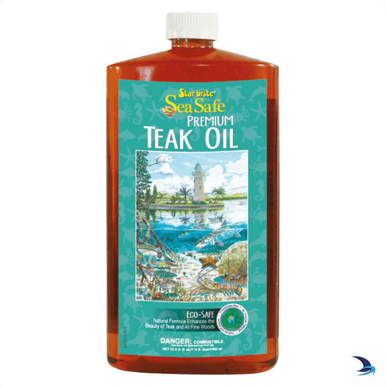 Starbrite - SeaSafe Teak Oil (1 Litre) Low VOC Eco Friendly